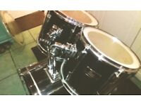 Four piece drum kit