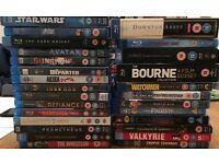 Lots of Blu Rays