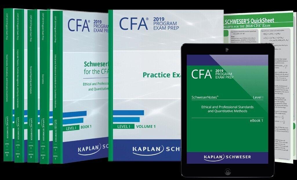 2019 CFA Level 1-2-3 Curriculum,Schweser QBank, Schweser Exams Secret  Sauce, Schweser Study Notes | in Hall Green, West Midlands | Gumtree