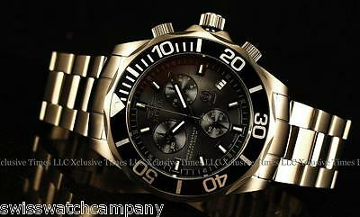 RARE Invicta Reserve Extreme Grand Diver LE 010 Tritium Tubes Swiss Chrono Watch
