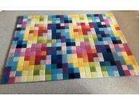 Multi-colour rug