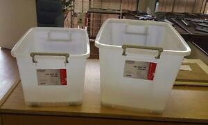 Storage bins with wheels as low as $5.00 each