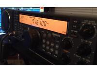 Kenwood TS570D HF transceiver.