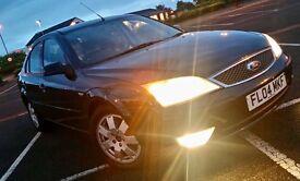Black 2004 Ford Mondeo - MOTd till Oct 2017
