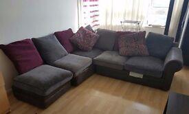 Wyvern sofa - British hand Made Upholstery Sofa - Bargain! plus FREE Candle holders