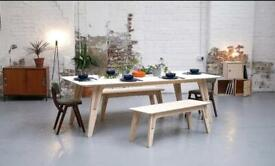 Birch Table Top (Legs Not Included)   234cm x 114cm   Available For Sale