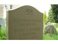 Headstones and Memorials supplied and installed