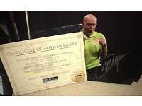 Signed MVG photo