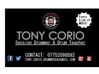 DRUMMER & CAJONIST available SESSION / RECORDING ALBUMS / RECORDING ADVERTISING / DRUM TUITION