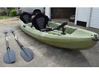 2+1 Near New Ocean Kayak