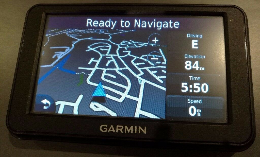 GARMIN nüvi 40 GPS Sat Nav UK & Ireland + Spain & Portugal 2018.10 (no offers!)