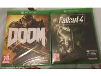 Doom & Fallout 4 (Xbox One)