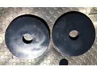 Olympic Weight Plates/Discs 2 x 5 kg ( 10KG TOTAL)