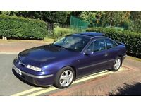 Vauxhall Calibra V6 1996 stunning car in blue with immaculate full black leather