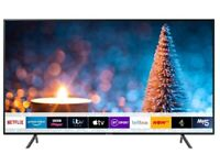 Samsung 50-Inch Ru7100 HDR Smart 4K TV for sale, Beautiful picture quality!