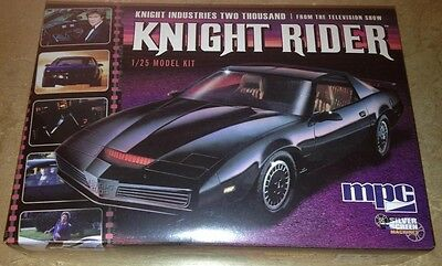MPC 1/25 Knight Rider KITT 82 Pontiac Firebird plastic model car kit new 806