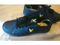 Lyle and Scott mens shoes, new in box