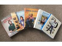 Set Of 5 Jamie Oliver Cookery Books