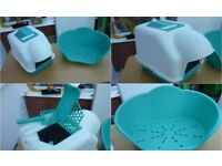 Accessories (CAT) Large Enclosed Tray Corner Tray Top Quality Carrier Beds Bowls Feeder ETC