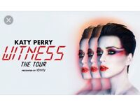 2x katy Perry tickets birmingham