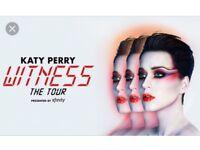 Katy perry tickets Birmingham x4