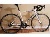 Cube Peloton Race road bike Ultegra/ 105 carbon parts RRP £1500 not Giant Cannondale Trek Felt Scott