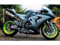 Kawasaki ZX10R Race Track Bike Not R1 GSXR Fireblade 1000RR