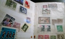 Job Lot of Vintage Postage Stamps