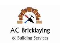 TIME SERVED BRICKLAYER, VAST EXPERIENCE IN ALL ASPECTS OF BRICKLAYING CALL TODAY FOR A FREE QUOTE