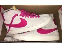 Ladies high top Nike trainers