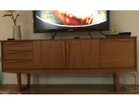 Teak sideboard vintage in immaculate condition 70's