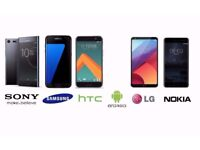 WANTED EXCELLENT CONDITION ANDROID SMARTPHONE SAMSUNG, SONY, LG, NOKIA, HTC