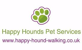 *** Happy Hounds Pet Services - Coming to a town near you!! ***