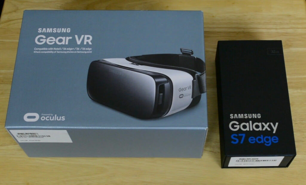samsung 7 edge plus gear vr