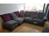 Wyvern sofa - British hand Made Upholstery Sofa - Bargain! plus FREE Candle holders