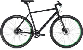 Brand new 2018 Cube Hyde Race Hybrid bike
