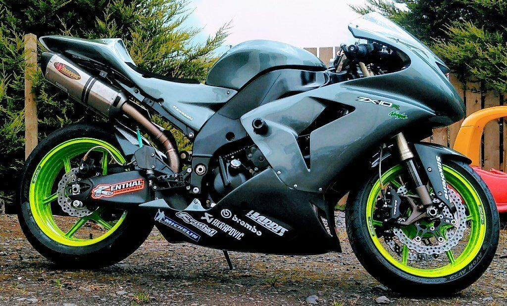 2006 kawasaki zx10r track race bike not r1 r6 gsxr zx6r. Black Bedroom Furniture Sets. Home Design Ideas