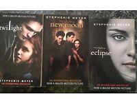 Twilight books - Movie Collectors Rare Edition (3 Books, Very Good Condition)