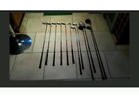 For sale full set of golfclubs in grt condition fotos on request no time wasters please