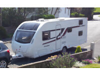 Swift Kudos 560 with motor mover 6 berth with fixed bunk beds 2015 Model FSH