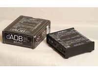 ARTcessories dADB DI box for acoustic instruments, gigged twice