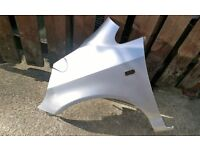 honda jazz front passenger side wing in silver 2001-2005