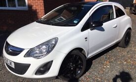 2011 White Vauxhall Corsa Excite 1.4L 55,000 Miles Mint Condition