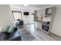 City Centre Modern Furnished Studio Apartment in Liverpool
