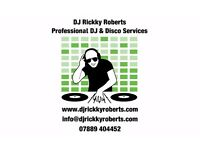 Professional DJ & Disco Services for any occasion or event, reliable & competitively priced