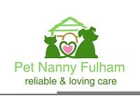 Dog Walking / Cat Sitting - Fulham