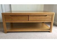 Coffee Table - Solid Wood with 4 Drawers