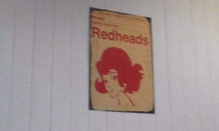 Original Brymay RedHead Signs