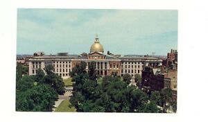 Boston MA  State House  unused post card