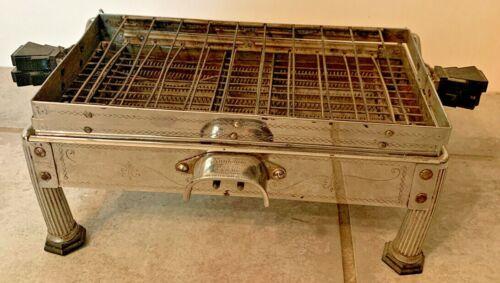 Antique Sunbeam Model G Flip Top Art Deco Toaster No Chord 1920